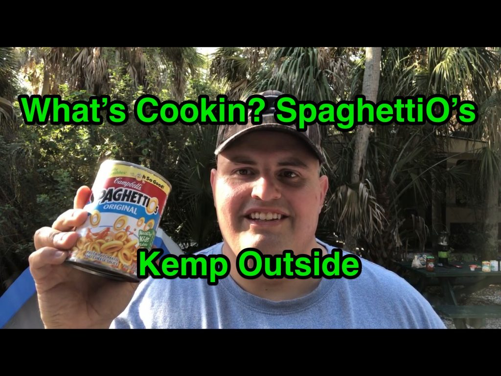 SpaghettiO's - Easy Camping Meal
