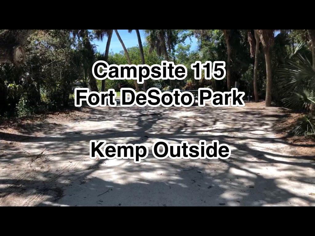 Fort De Soto Park Campsite 115