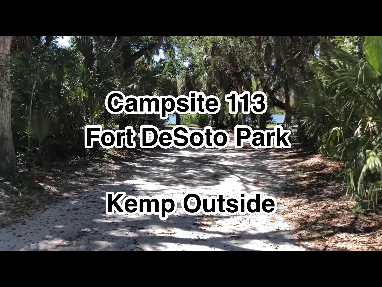 Fort De Soto Park Campsite 113