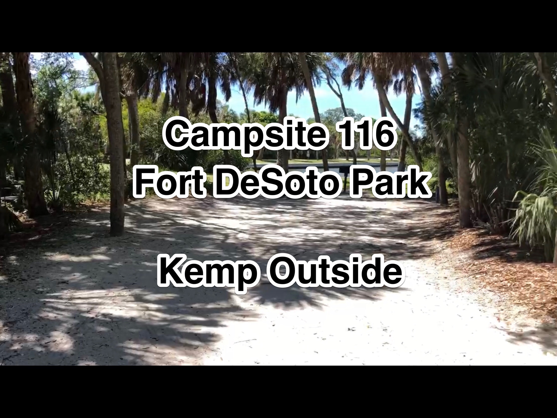 Fort De Soto Park Campsite 116