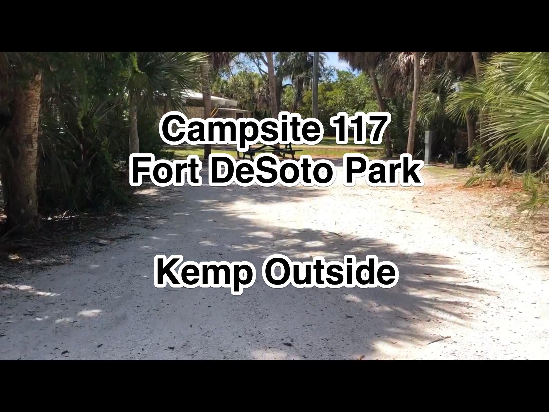 Fort De Soto Park Campsite 117