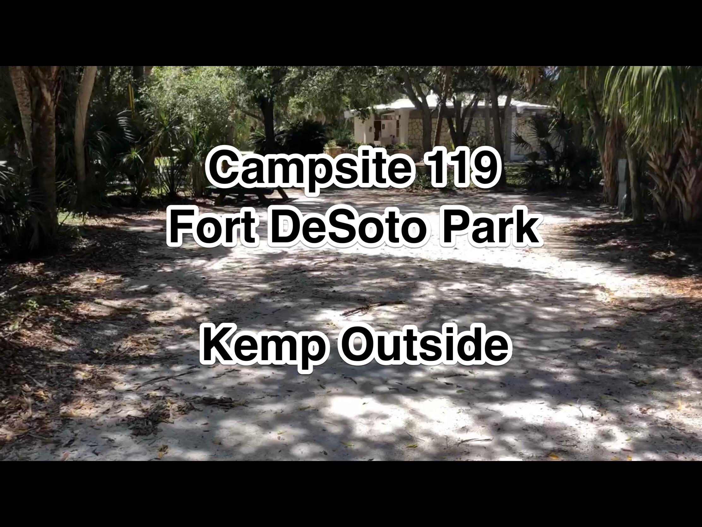 Fort De Soto Park Campsite 119