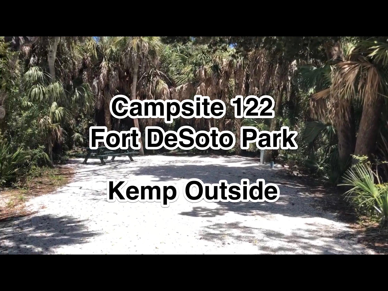 Fort De Soto Park Campsite 122