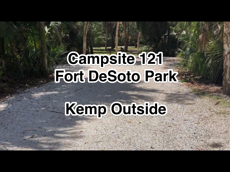 Fort De Soto Park Campsite 121