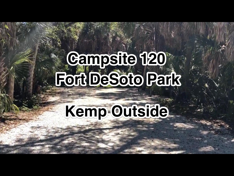 Fort De Soto Park Campsite 120