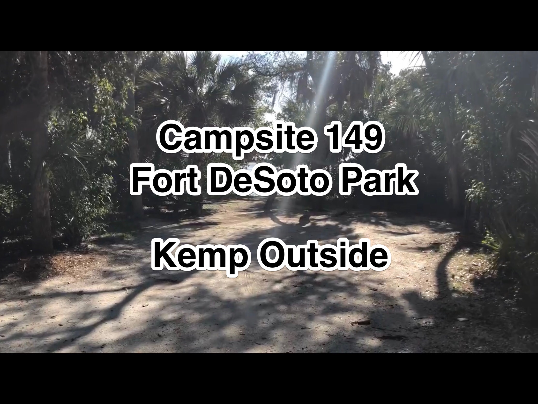 Fort De Soto Park Campsite 149