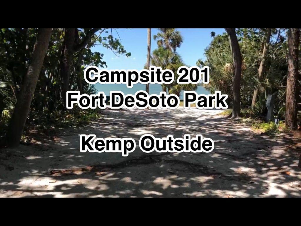 Fort De Soto Park Campsite 201