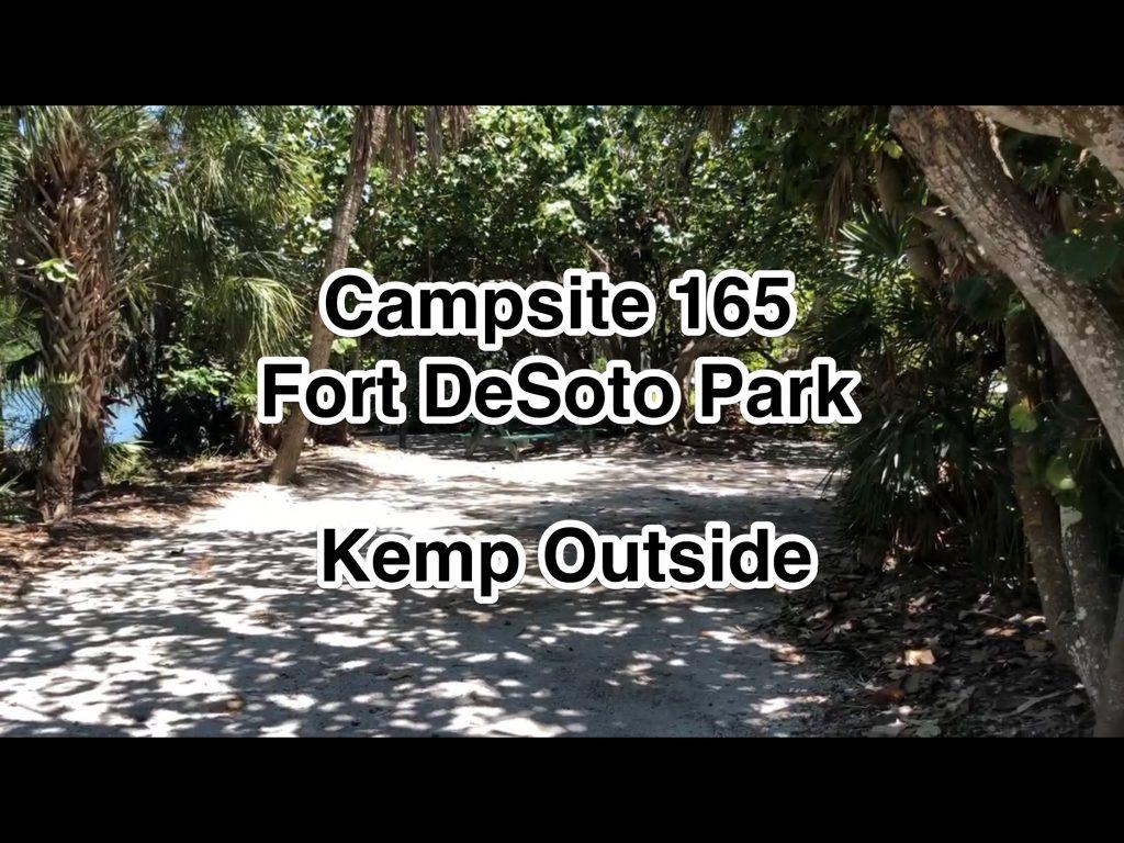 Fort De Soto Park Campsite 165