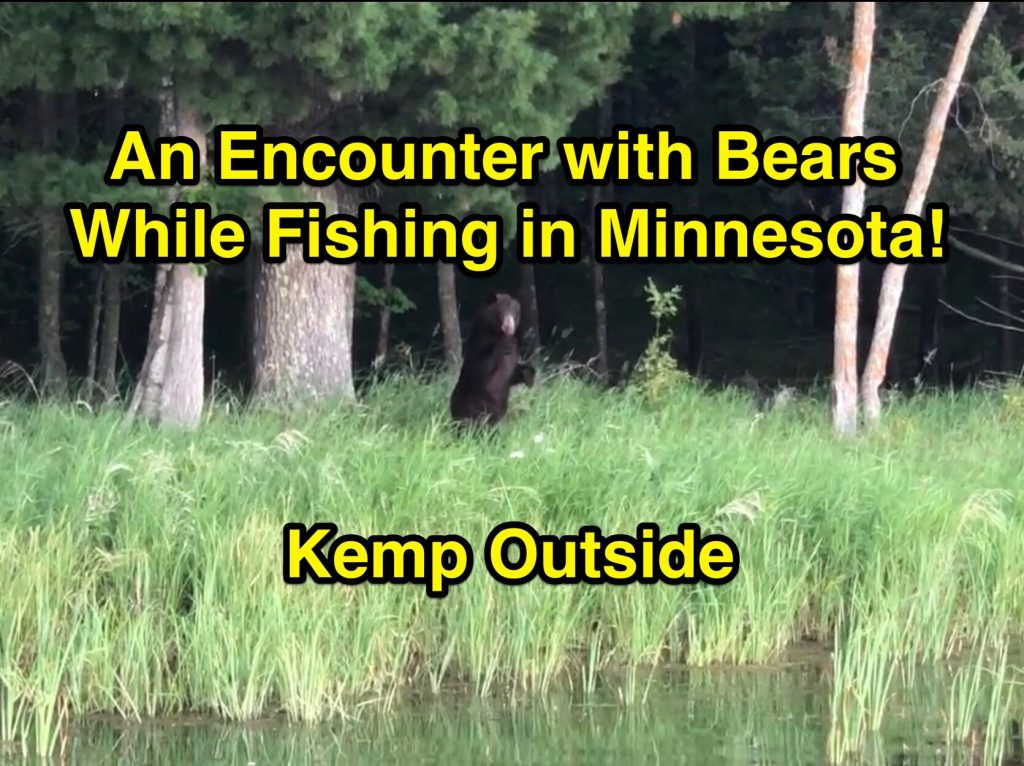 Bear Encounter While Fishing in Minnesota