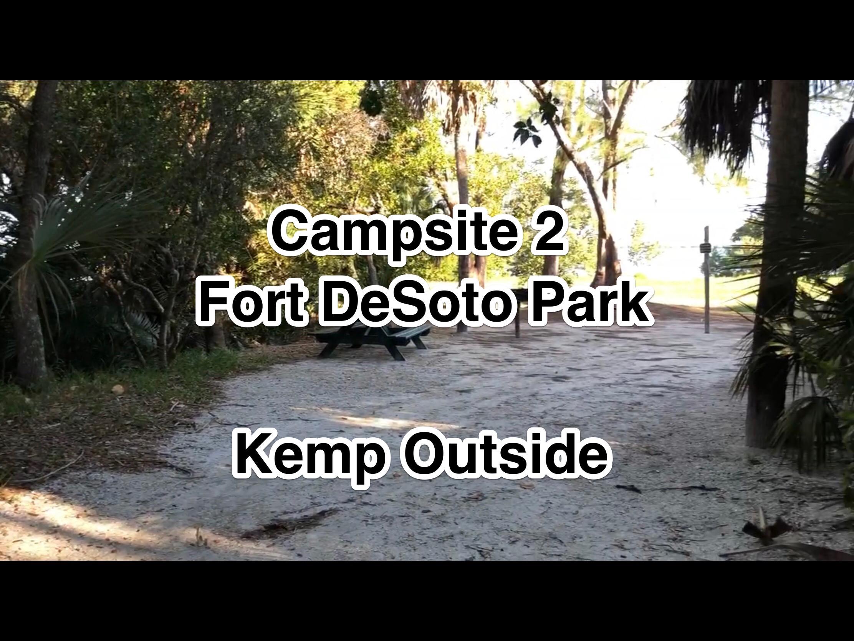 Fort De Soto Park Campsite 2