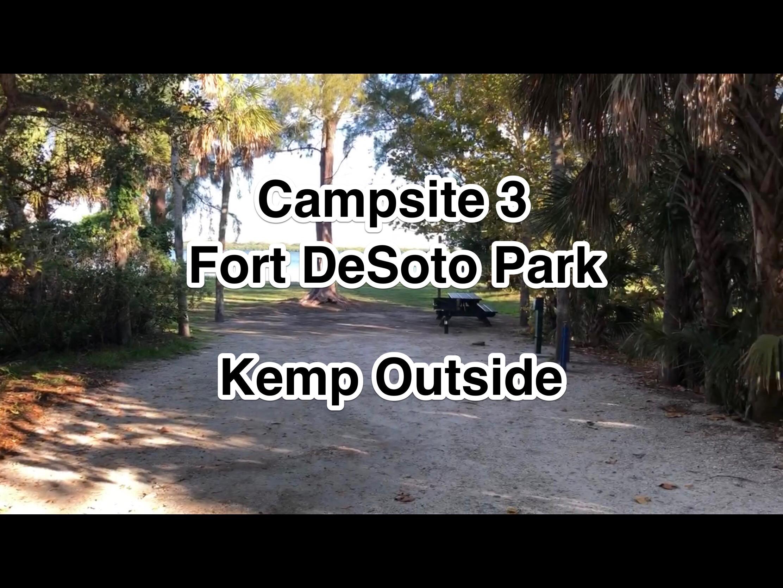 Fort De Soto Park Campsite 3