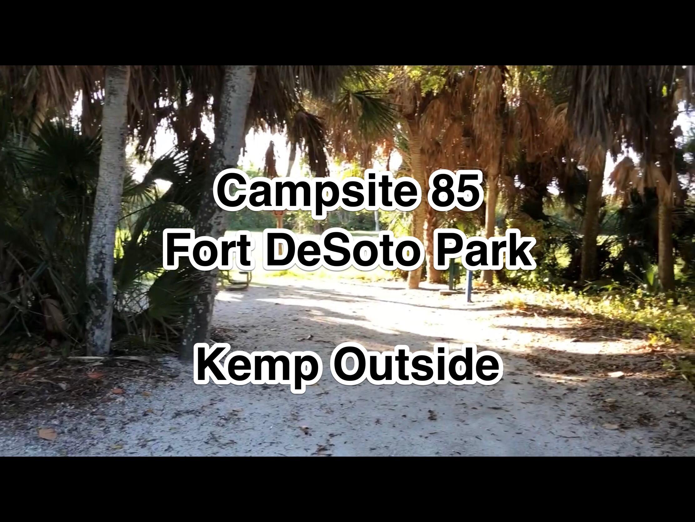 Fort De Soto Campsite 85
