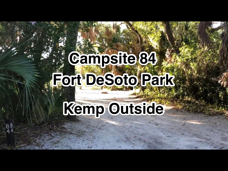 Fort De Soto Park Campsite 84