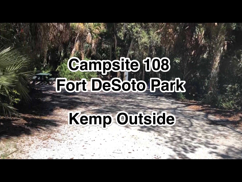Fort De Soto Park Campsite 108