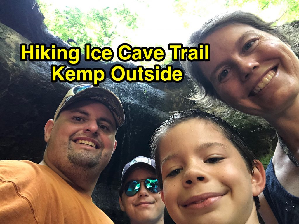 Hiking Ice Cave Trail