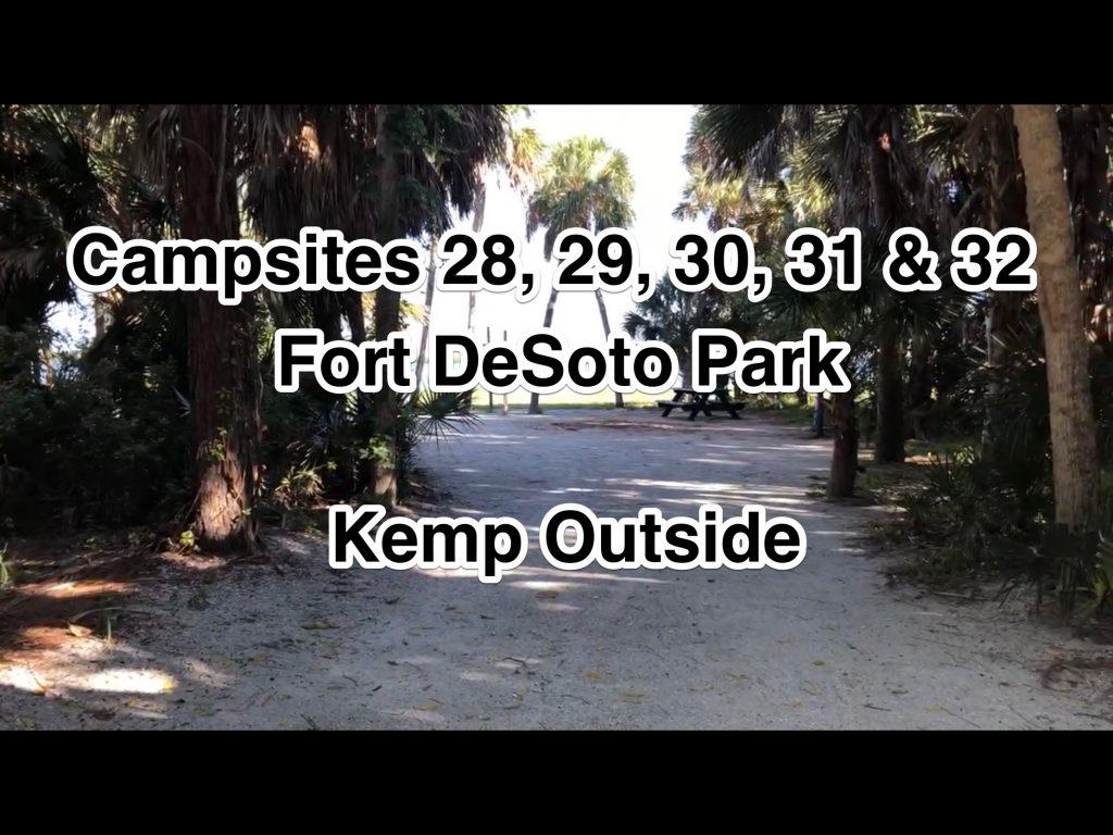 Ford De Soto Park Campsites 28, 29, 30, 31 & 32
