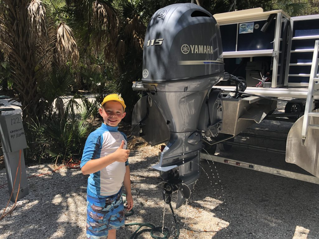 Teach a kid boat maintenance, and you won't have to do it!