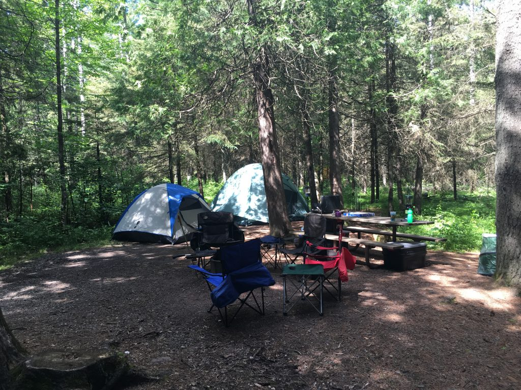 Camping Jay Cooke