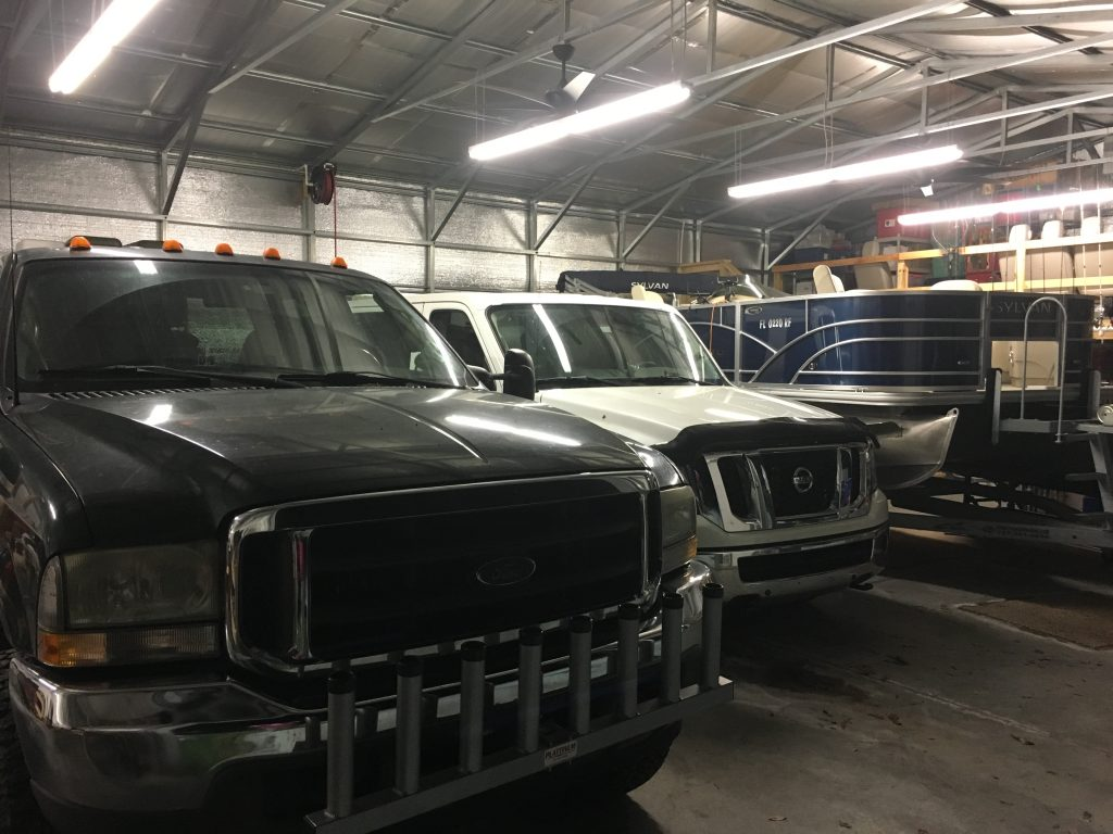 Out with the old and in with the new. The KempBus replaced our Ford F-250 as our family hauler
