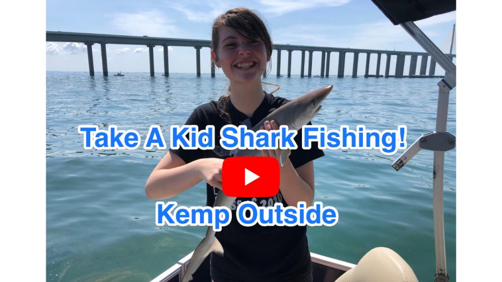 Pontoon Boat Shark Fishing
