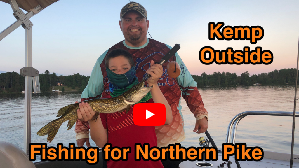 Pontoon Boat Pike Fishing