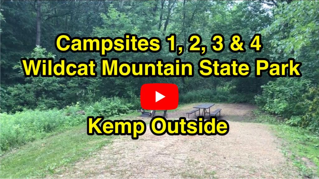 Wildcat Mountain Campsites 1, 2, 3 & 4