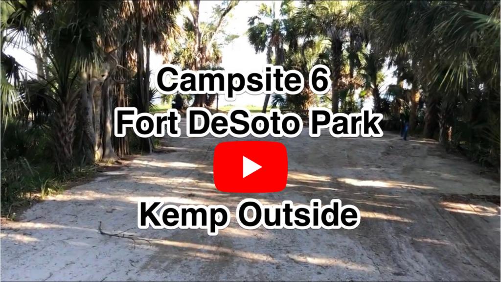 Fort De Soto Campsite 6