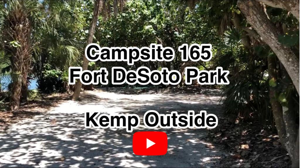 Fort De Soto Campsite 165
