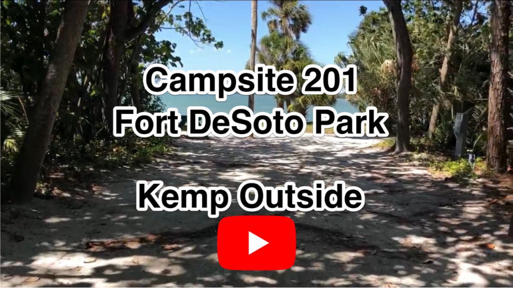 Fort De Soto Campsite 201