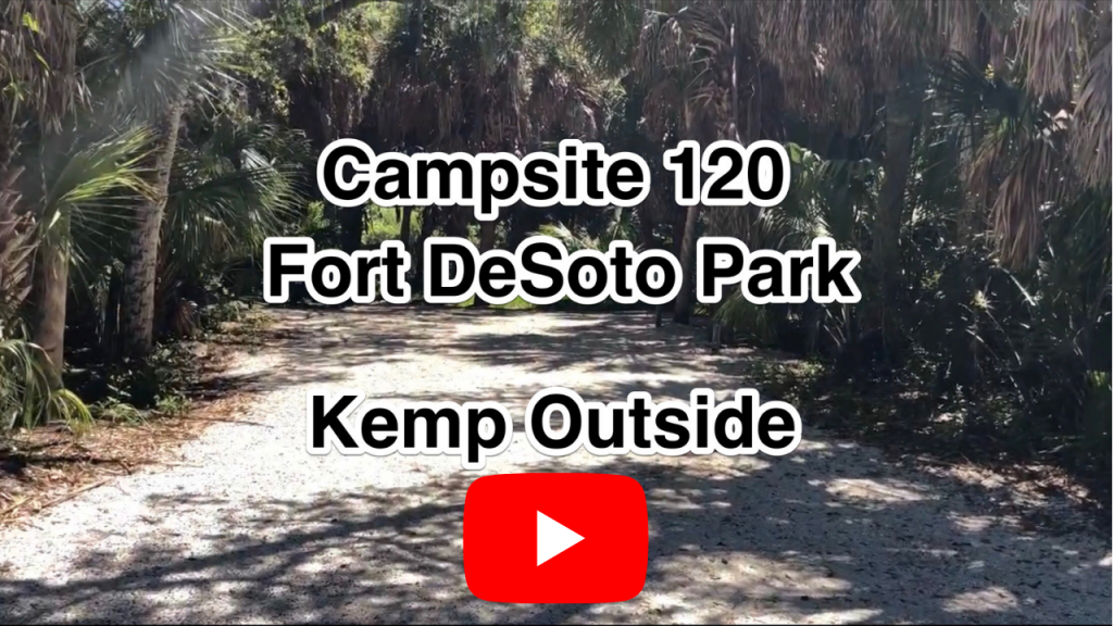 Fort De Soto Campsite 120