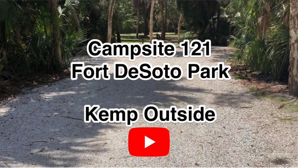 Fort De Soto Campsite 121