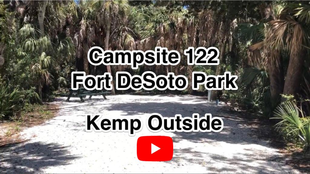 Fort De Soto Campsites 122