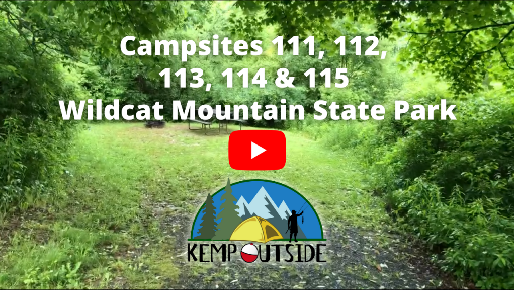 Wildcat Mountain Campsites 111, 112, 113, 114 & 115