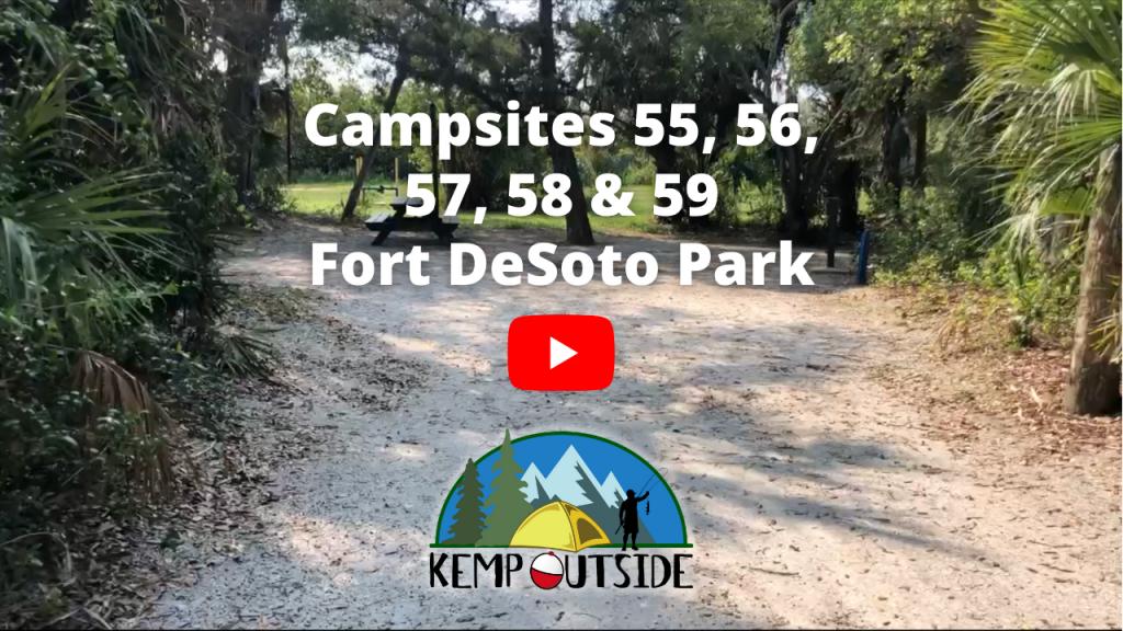 Fort De Soto Park 55, 56, 57, 58 & 59
