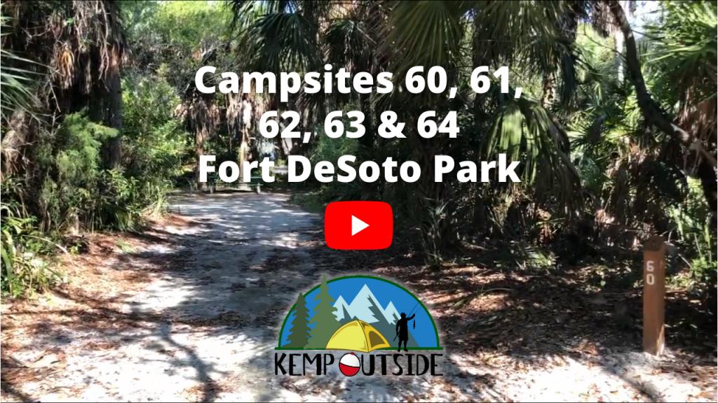 Fort De Soto Park Campsites 60, 61, 62, 63 & 64