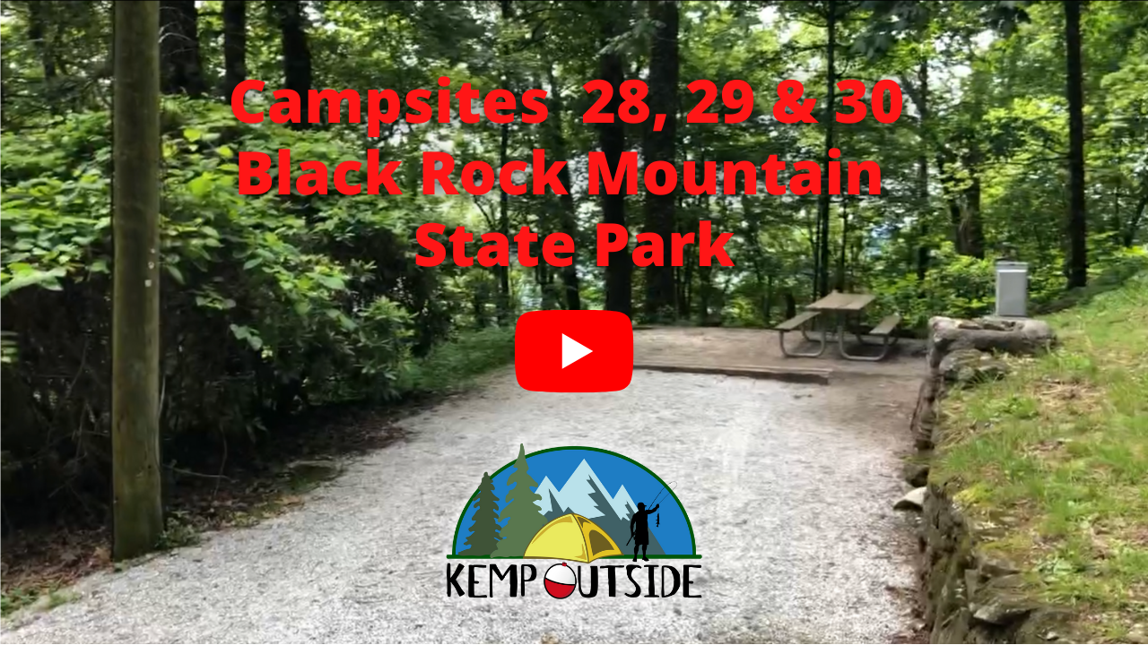 Black Rock Mountain Campsites 28, 29 & 30