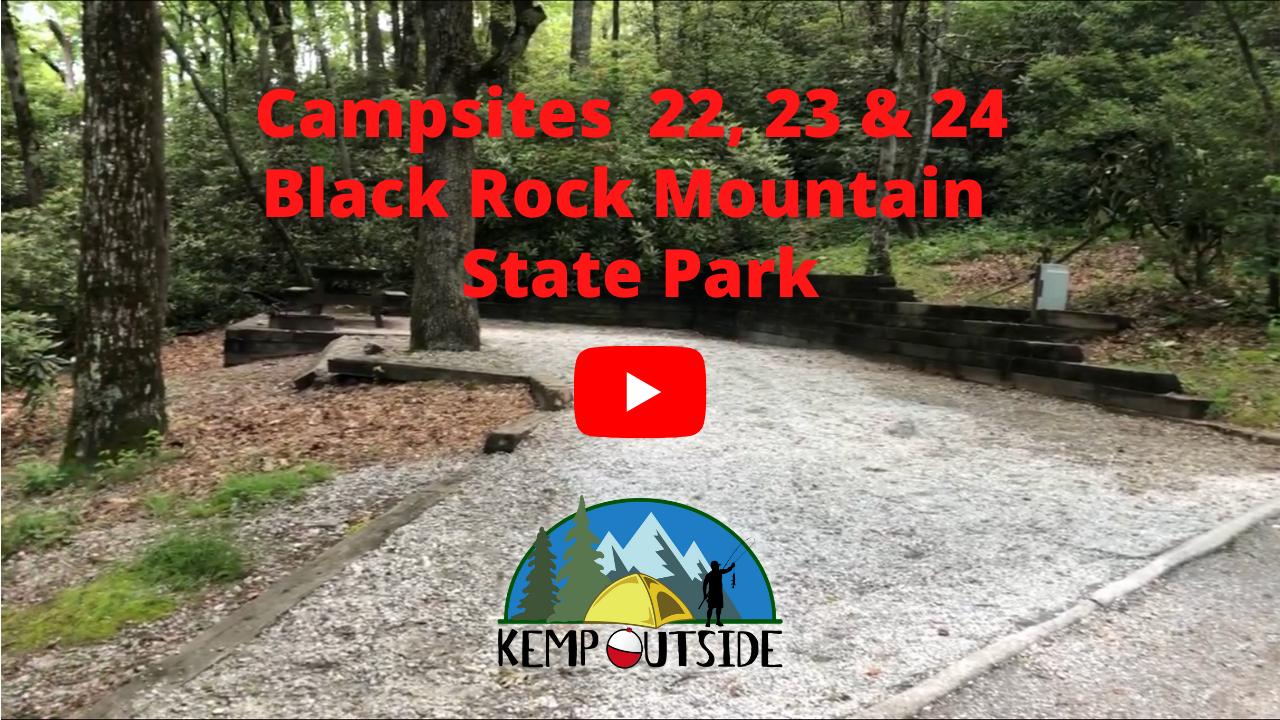 Black Rock Mountain Campsites 22, 23 & 24