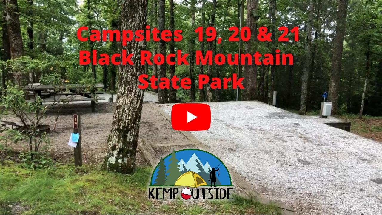 Black Rock Mountain Campsites 19, 20 & 21