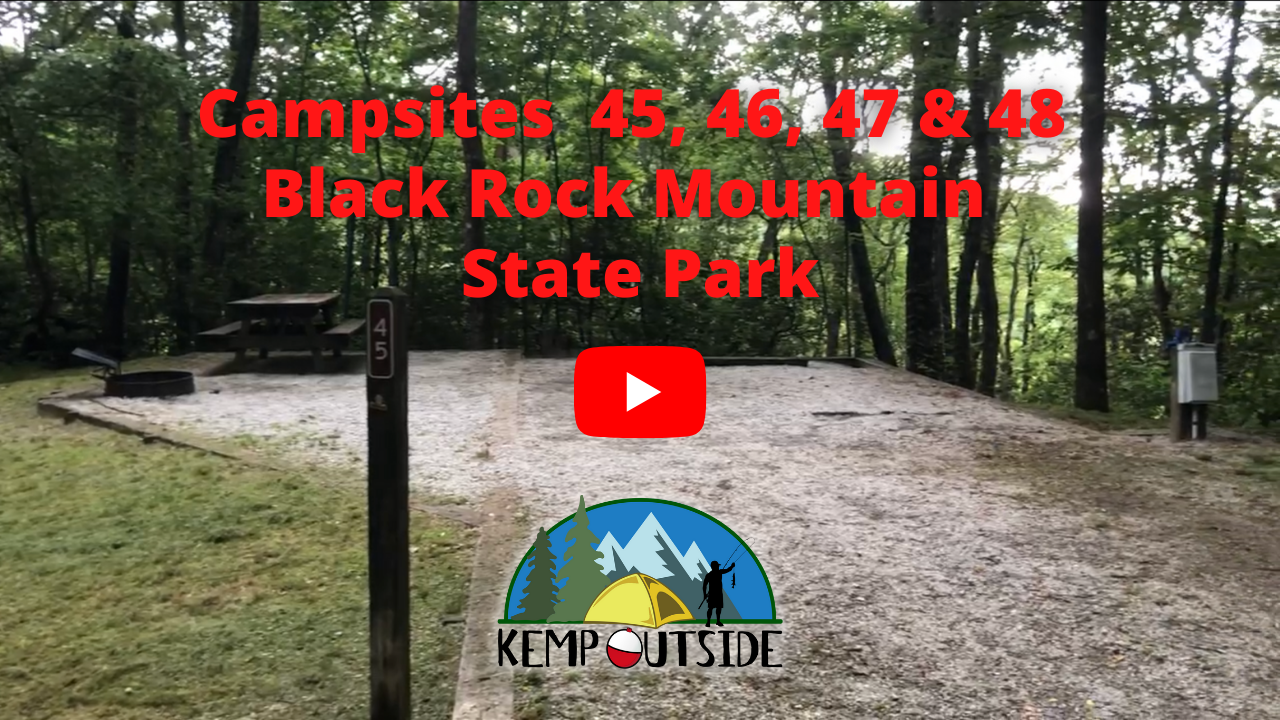 Black Rock Mountain Campsites 45, 46, 47 & 48