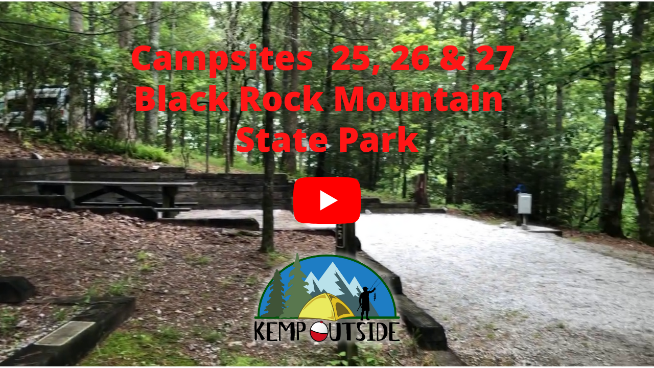 Black Rock Mountain Campsites 25, 26, & 27