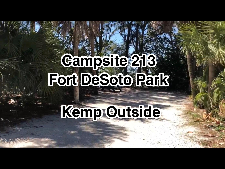 Fort De Soto Park Campsite 213