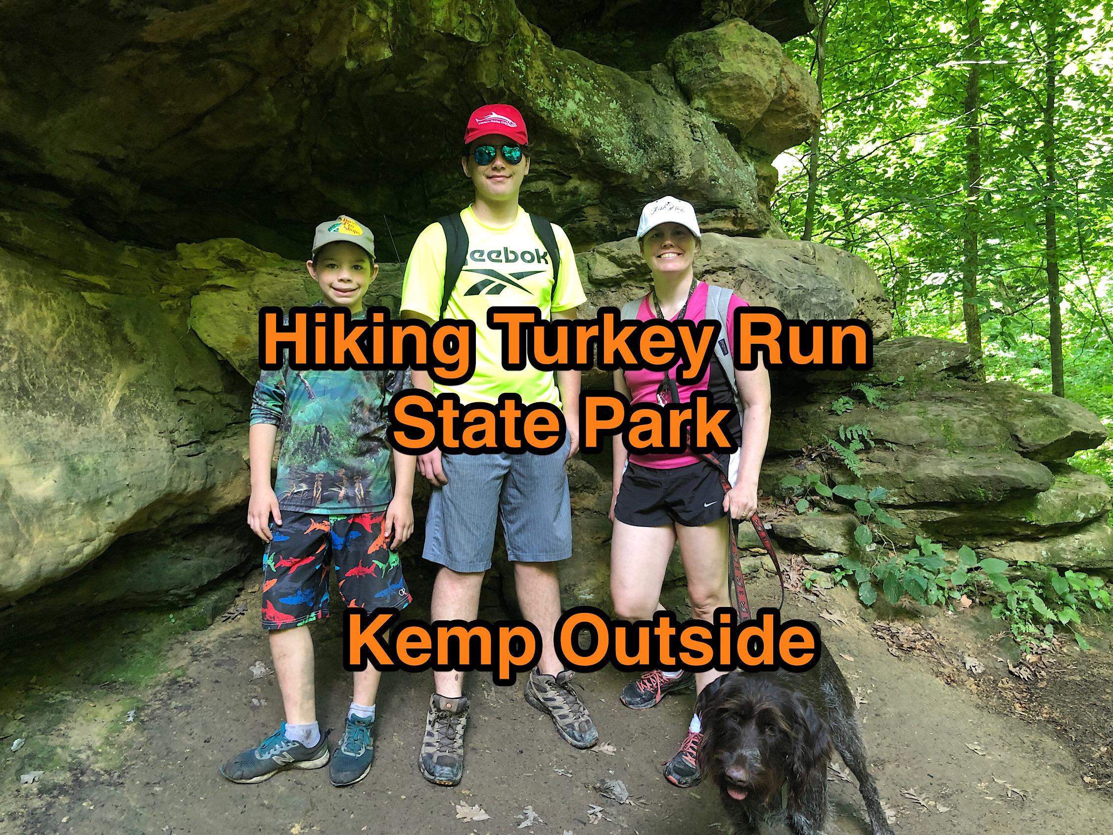 Hiking Turkey Run