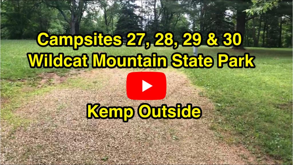 Wildcat Mountain Campsites 27, 28, 29 & 30