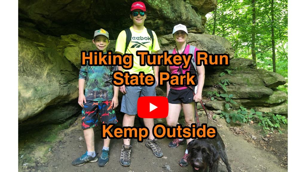 Hiking Turkey Run State Park