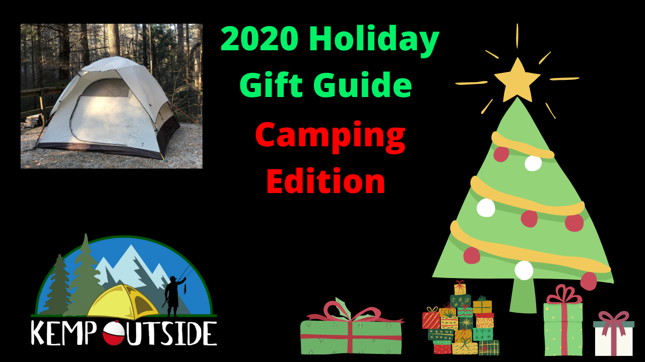 2020 Holiday Gift Guide Camping