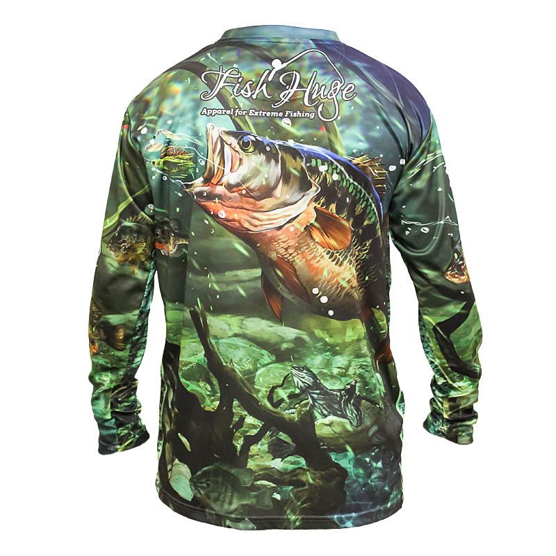 Fish Huge Bass Shirt