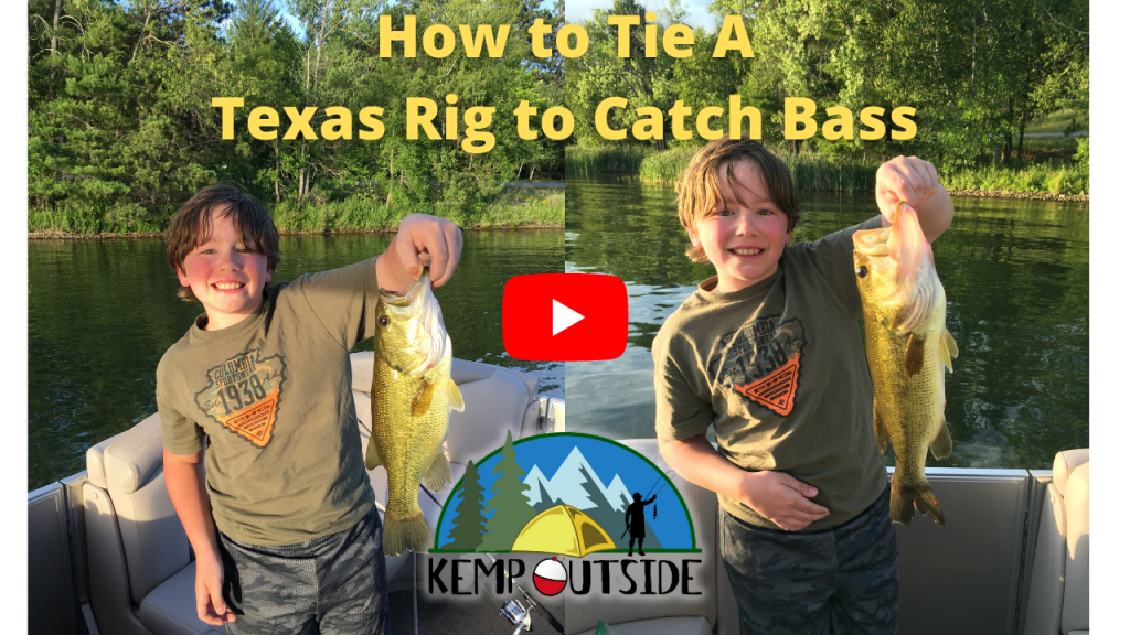 How to Tie A Texas Rig to Catch Bass