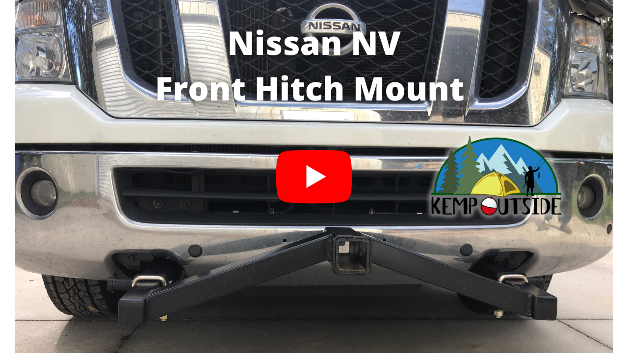 Nissan NV Front Hitch Mount