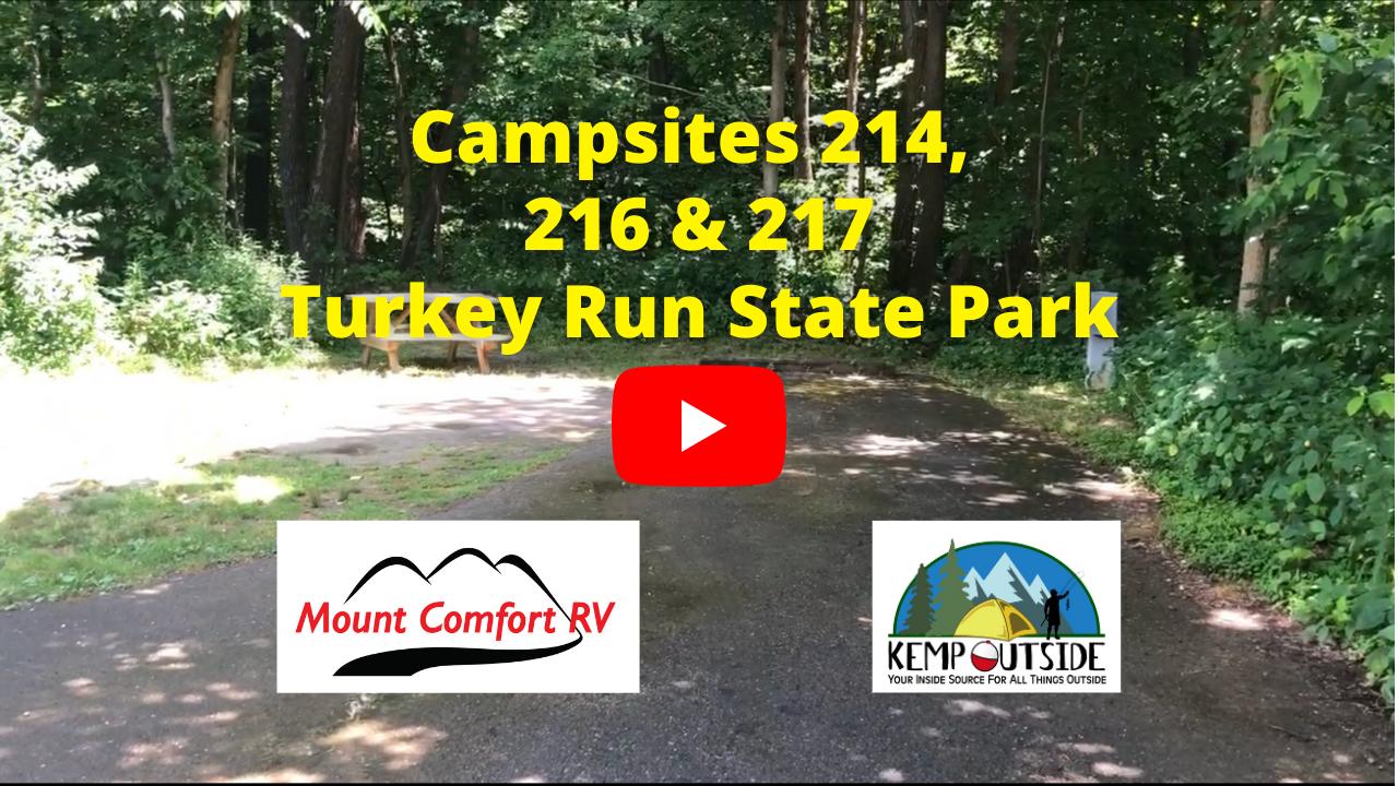 Campsites 214, 216 & 217