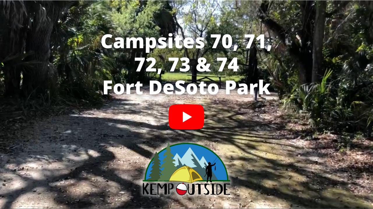 Fort De Soto Sites 70, 71, 72, 73 & 74